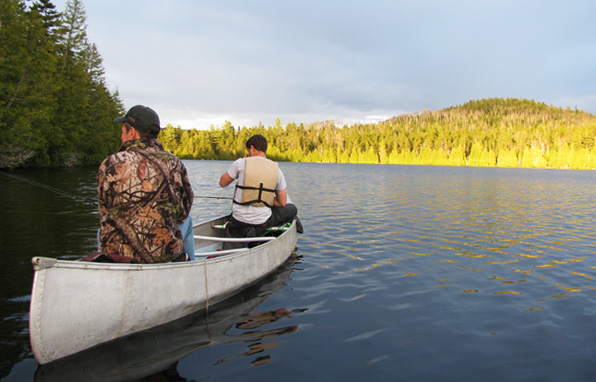 Jackman maine fly fishing lake fishing vacations sportsman for Fishing boat rentals near me