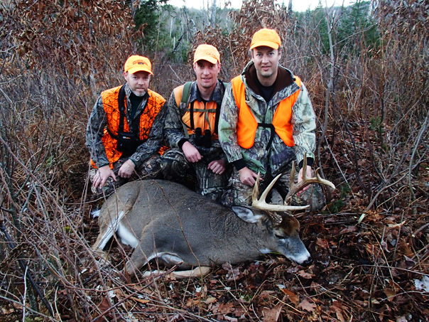 Maine Deer Hunting Largest Whitetail Bucks Guided Hunts Semi
