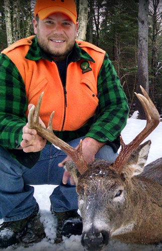 Maine Deer Hunting Largest Whitetail Bucks Guided Hunts Semi-Guided
